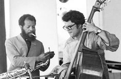 Ornette with Charlie Haden