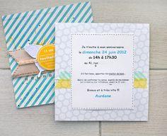 ** Cartes d'invitation pour l'anniversaire de ma fille... 11 ans **