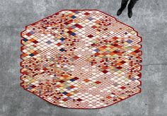 Losanges carpet by Ronan & Erwan Bouroullec  for Nanimarquina