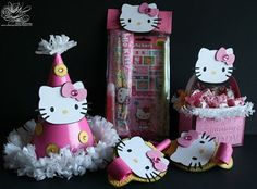 Ideas de la web... Fiesta Hello Kitty