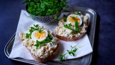 Food And Drink, Appetizers, Eggs, Breakfast, Recipes, Spreads, Food Ideas, Diet, Food And Drinks