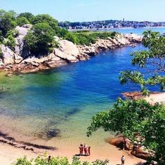 A Secret Tropical Beach In Massachusetts, The Water At Half Moon Beach Is A Mesmerizing Blue Jamaica Vacation, Vacation Spots, Vacation Ideas, Places To Travel, Places To Visit, Travel Destinations, Beach Pink, Beach Bum, Summer Beach