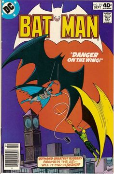 Batman Vol. 1 Art by: Dick Giordano and Tatjana Wood Batman E Superman, Batman Comic Books, Batman Art, Comic Art, Dc Comics, Batman Comics, Vintage Comic Books, Vintage Comics, Story Arc