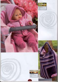 Album Archive - Dukketøj til Baby Born 2 - Ingelise Knitted Doll Patterns, Knitted Dolls, Baby Knitting Patterns, Knitting Dolls Clothes, Doll Clothes Patterns, Holly Owens, Baby Born Clothes, Crochet Doll Dress, Album