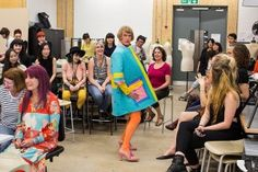 Every year textile students of St Martin's art school are given the opportunity of a lifetime: to design a dress for eccentric artist Grayson Perry.