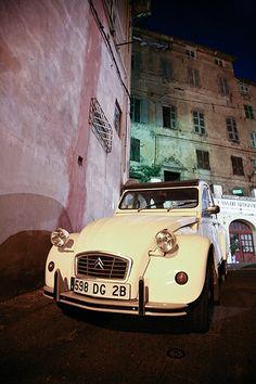 itroen CV in Corsica