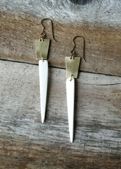 earrings - love the simplicity!