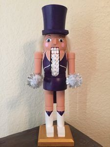 CLICK HERE TO PURCHASE from CustomNutcrackers.com. Get this unique TCU…