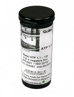 Rollei ATP1.1 Advanced Technical Pan 120 size (ISO 32) - $11