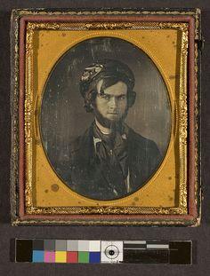 Portrait of unidentified man wearing hat by George Eastman House, via Flickr
