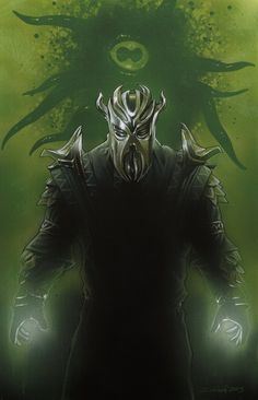 Miraak e Hermaeus Mora The Elder Scrolls, Elder Scrolls Games, Elder Scrolls V Skyrim, Elder Scrolls Online, Tes Skyrim, Skyrim Game, Oblivion, Daedric Prince, Video Game Art