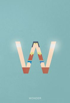 Helvetica, my hero. A designer turned every letter of the alphabet into a superhero or super villain using Helvetica. We love the W for Wonder Woman!