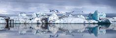 Kjølige Refleksjoner panoramabilde