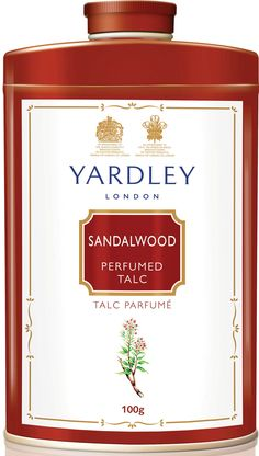 Sandalwood Talcum Powder