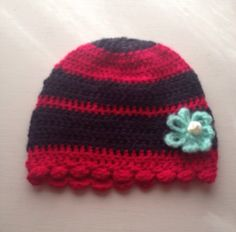 Fushia with a flower hat by LisaSchwimmer on Etsy https://www.etsy.com/listing/260337774/fushia-with-a-flower-hat