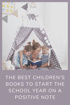 When it's back-to-school time we scour our library and Amazon, for books that talk about school with a positive spin. #books Best Children Books, Childrens Books, Every Mom Needs, Happy Mom, What To Read, Activities To Do, Book Recommendations, Fun Projects, Good Books