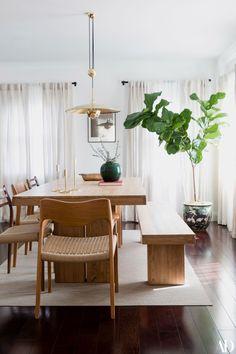 Dining furniture ideas : gravity home -read more – Interior Design Boards, Contemporary Interior Design, Interior Modern, Dining Room Inspiration, Home Decor Inspiration, Decor Ideas, Room Ideas, Gravity Home, Dining Room Design
