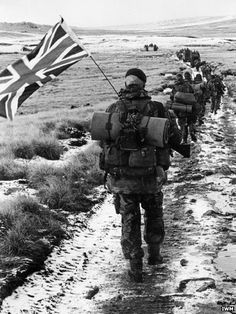 Exhibition at Imperial War Museum North (Manchester) to mark 30th anniversary of the Falklands conflict.