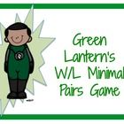 Practice W/L MInimal Pairs with Green Lantern!DirectionsPrint out 1-2 sets of minimal pair cards. Print out 3-6 sets of Green Lantern cards. Cut...