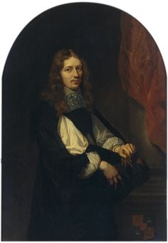 Pieter de Graeff (1638 - 1707) painted by Caspar Netscher (1639-1684) in 1662.