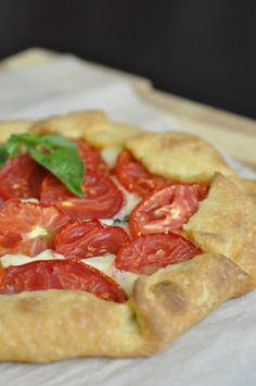 Tomato and Mozzarella Galette