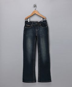 Take a look at this Hudson Bootcut Jeans - Girls by Blow-Out on #zulily today!#fall