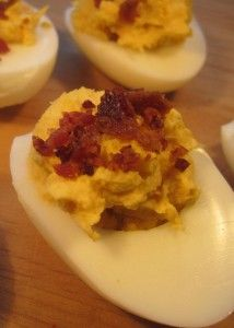 What makes deviled eggs such a Southern staple? I have no idea, but I do know that if there aren't a plate of deviled eggs at every reception, funeral or po