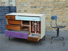 Upcycled furniture from Elemental