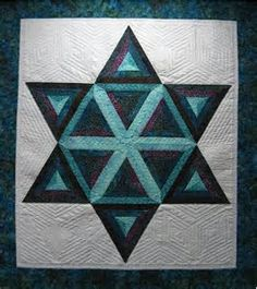 Image result for Star of David Quilt Pattern Free