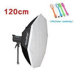 Godox 80x120cm Rectangular Softbox Bowens Mount for Studio Monolight Flash Portrait Photography