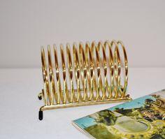 Vintage Metal Rack / Holder / Organizer by CheekyVintageCloset on Etsy
