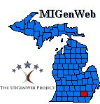 Click this Washtenaw County MIGenWeb logo to return to the Home page.