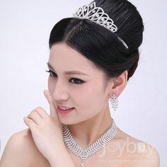 Unique Crystal Wedding Jewelry Sets For Brides1699 Wedding