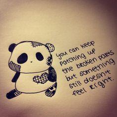 1000+ images about Sad Panda Doodles on Pinterest | Pandas ...