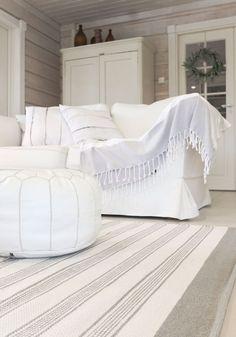 Kodin1, Elämäni koti, Vierasblogi Tarja's Snowland, Mattoäänestyksen tulos ja tekstiileillä uudistettu olohuone #elamanikoti