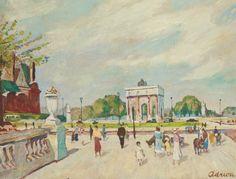 Art Links:Lucien Adrion (1889-1953) - Seeking Beauty