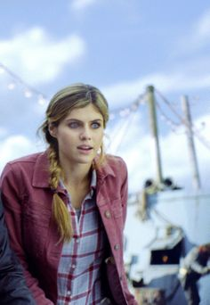 Alexandra Daddario as... who was it? oh yeah! Me! Lol! Cast Puns, wear me out!!!