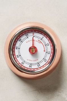 Anthropologie Magnetic Kitchen Timer #AnthroFave