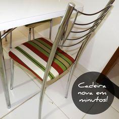 Aprenda a reformar o assento da sua cadeira de forma rápida e fácil.
