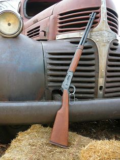 Lever Action Rifle - Old Dodge Henry Rifles, Old Dodge Trucks, Lever Action Rifles, Fire Powers, Hunting Rifles, Firearms, Shotguns, Cool Guns, Guns And Ammo