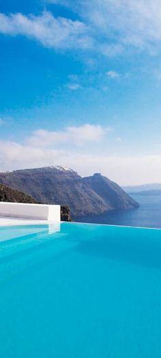 San Antonio Santorini, a luxury hotel in Greece http://www.mediteranique.com/hotels-greece/santorini/san-antonio-santorini/