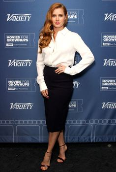 Amy Adams in Tom Ford attends the Variety screening of 'Nocturnal Animals' in L.A. #bestdressed