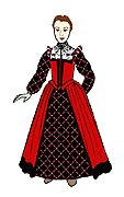 Putting on an Elizabethan Outfit  http://www.elizabethancostume.net/overview.html#