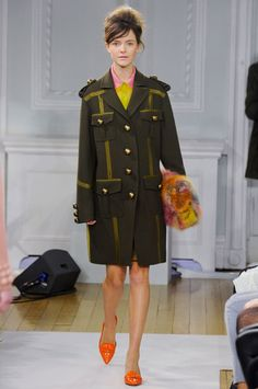 There is something about these sorbet shades mixed with this military look that feels so fresh to me. The Fourteen Biggest Trends From the Fall 2012 Runways -- The Cut