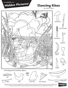 Family Coloring Pages, Coloring Books, Hidden Pictures Printables, Highlights Hidden Pictures, Hidden Picture Puzzles, Hidden Objects, Find Objects, Kids Sheets, Bored Kids
