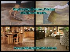 Like other materials vinyl also tends to get damaged due to mishandling or with time. For any kind of wear and tear or a breakage of this material, a proper repair servicing is needed. The vinyl experts of Perth Carpet Master know well how to remove the old flooring before putting the vinyl flooring. Contact them today if you find any kind of damage occur in your flooring.
