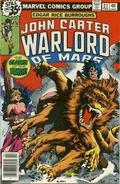 John Carter Warlord of Mars vol. 1 #21 (February, 1979)