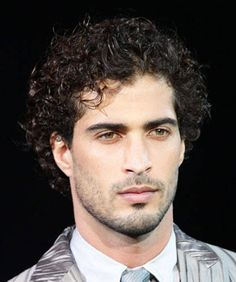 Simple Sexy Curly Hair for Men