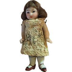 Kestner All Bisque Girl from shirleydoll on Ruby Lane