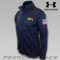 Under Armour Navy SMU Full Zip Jacket - since I'm officially a DEP sailor! Large...$95...